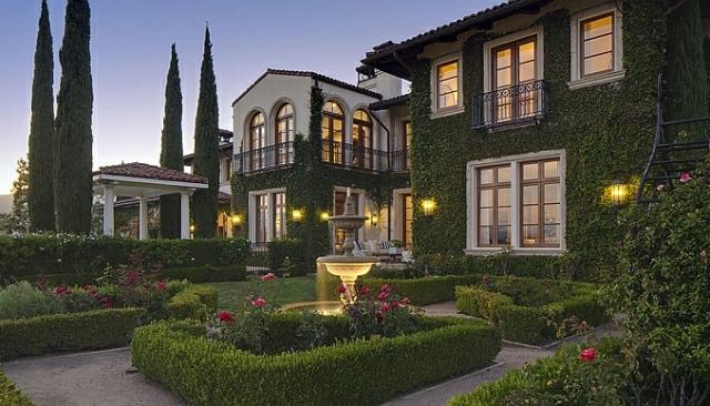 Heidi klum villa in kalifornien ein traumhaftes luxushaus for Gartengestaltung villa
