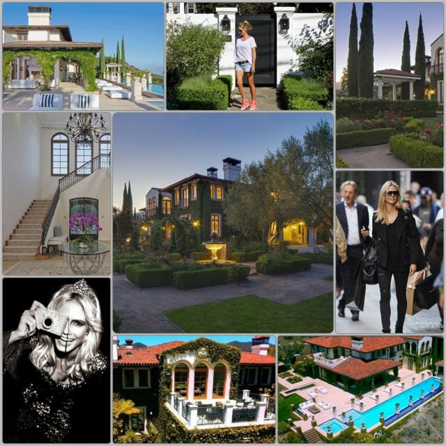 wo wohnt Heidi Klum Villa prominenten häuser