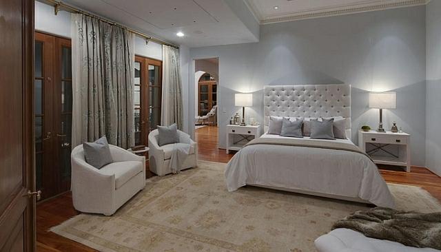 wo wohnt Heidi Klum Villa schlafzimmer
