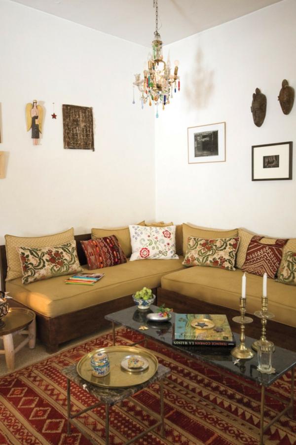 ethno style in der wohnung geschmackvolle interieur designs. Black Bedroom Furniture Sets. Home Design Ideas