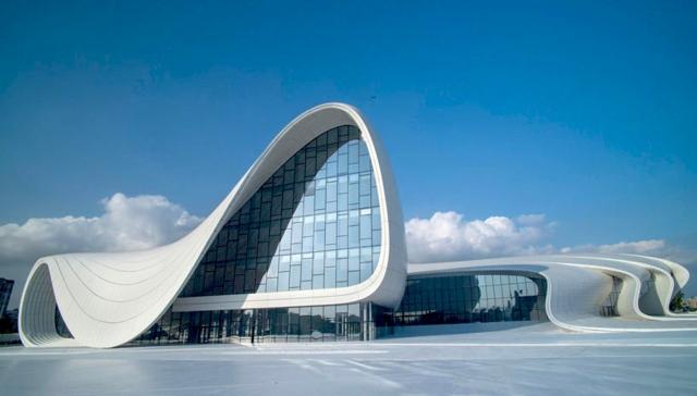 zaha hadid heydar aliyev center baku azerbaijan design wasserhahn