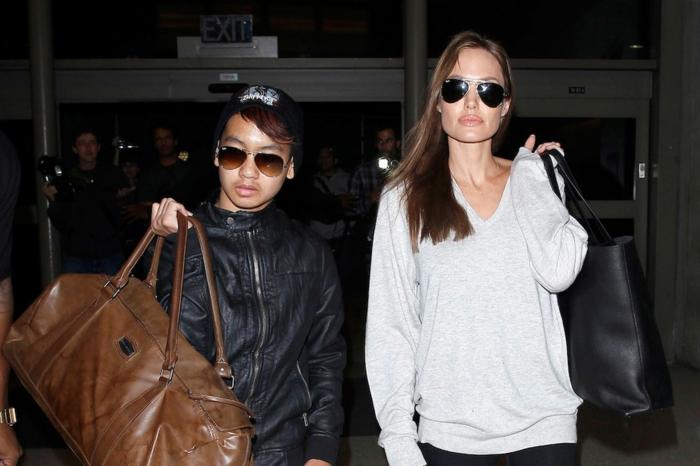 Angelina Jolie Kinder sohn Maddox Jolie Pitt