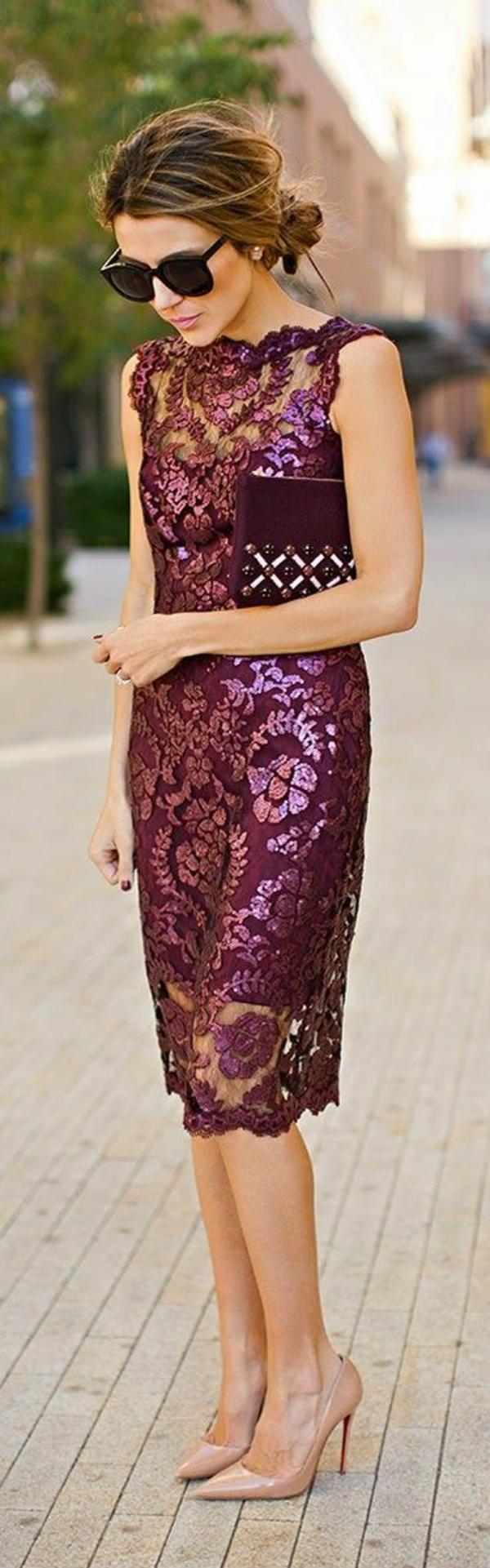 Cocktail Kleider trendfarbe 2015 dresscode etikette