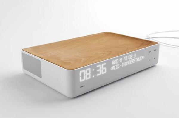 Coole Wecker dekoartikel mit radio modern schlichtes design