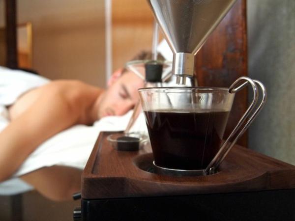 Coole Wecker dekoartikel morgen kaffee trinken