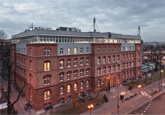hauptstadt Krakau Polen Universität Politechnika Krakowska