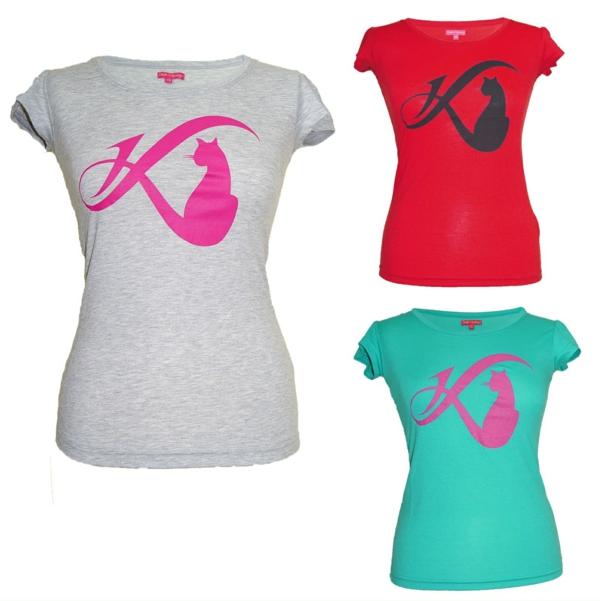 Daniela Katzenberger logo t shirt
