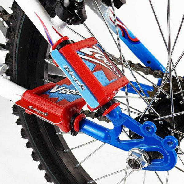 Fahrrad Accessoires Fahrrad Auspuff mit Sound kinderrad zubehör turbospokes