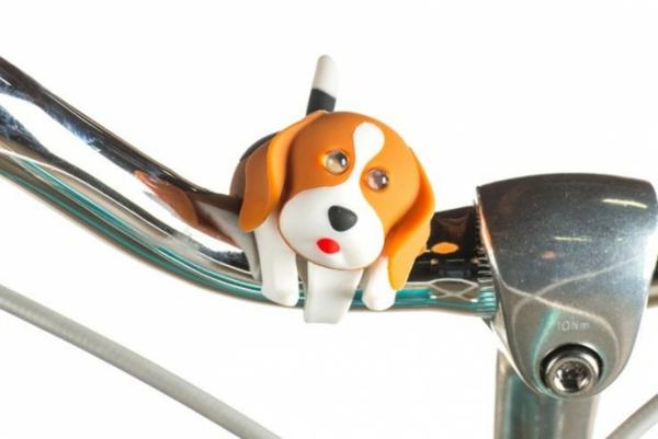 Fahrrad Accessoires Fahrradscheinwerfer hund kinderfahrrad zubehör