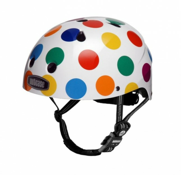 Fahrrad Accessoires helm bunte punkte kinderfahrrad zubehör