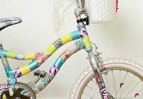 Fahrrad Accessoires klebeband streifen bunt kinderrad zubehör