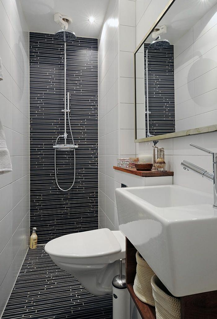 Gäste WC gestalten kleines bad mit dusche einrichten