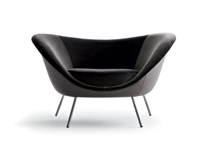 Gio Ponti aussteller trend möbel iSaloni sofa