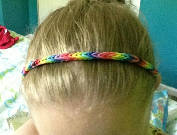 Gummiarmbänder und haarbänder armbänder flechten