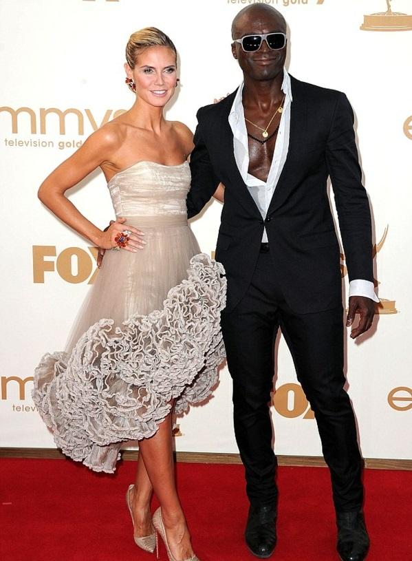 Heidi Klum und Seal als ehepaar