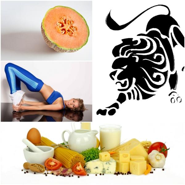 Horoskop Löwe sternzeichen gesunde ernährung