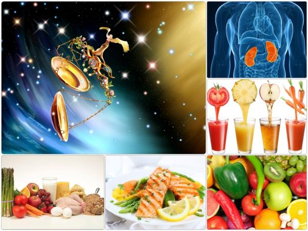 Horoskop Waage sternzeichen gesunde ernährung
