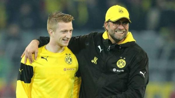 Jürgen Kloppp rivat fußballtrainer bvb und marco reus