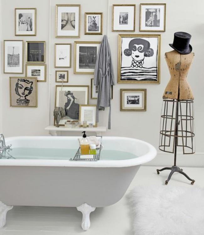 Bad Wanddekor | Möbelideen Badezimmer Wanddekoration