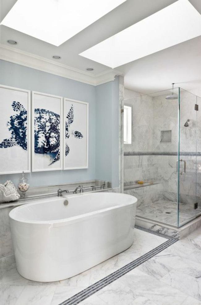 Kleines Bad Gestalten Und Kreativ Dekorieren - Inspirierende Beispiele Badezimmer Wanddekoration