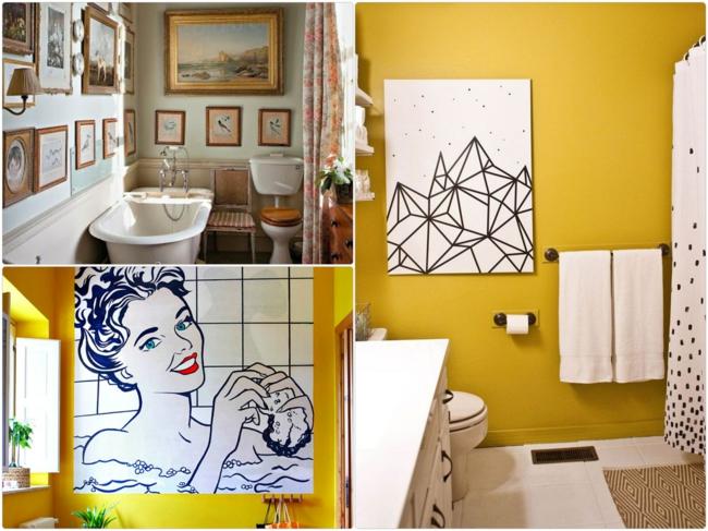kleines bad gestalten und kreativ dekorieren. Black Bedroom Furniture Sets. Home Design Ideas