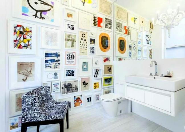 kleines bad gestalten und kreativ dekorieren inspirierende beispiele. Black Bedroom Furniture Sets. Home Design Ideas