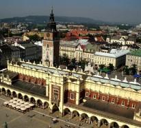 Welche Sehenswürdigkeiten sollten Sie in Krakau, Polen besichtigen