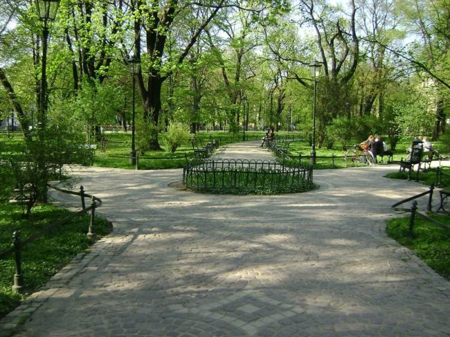Krakau Polen hauptstadt sehenswürdigkeiten botanischer garten
