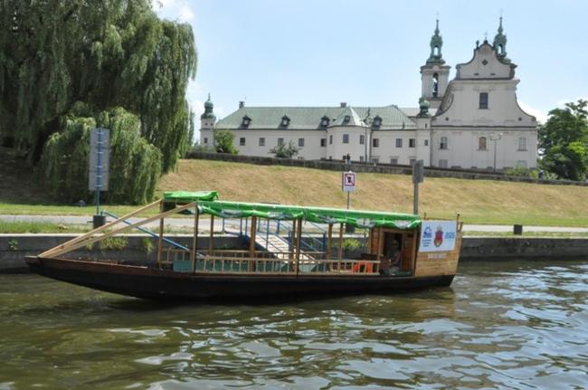 Krakau Polen hauptstadt wasser transport fluss