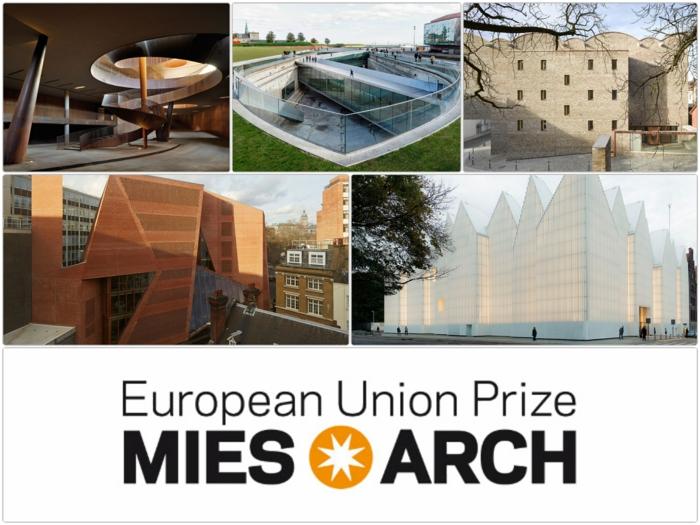 Mies Van der Rohe Award 2015 finalisten