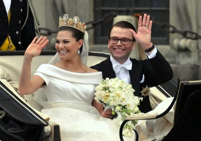 Prinzessin Victoria von Schweden und Daniel Westling