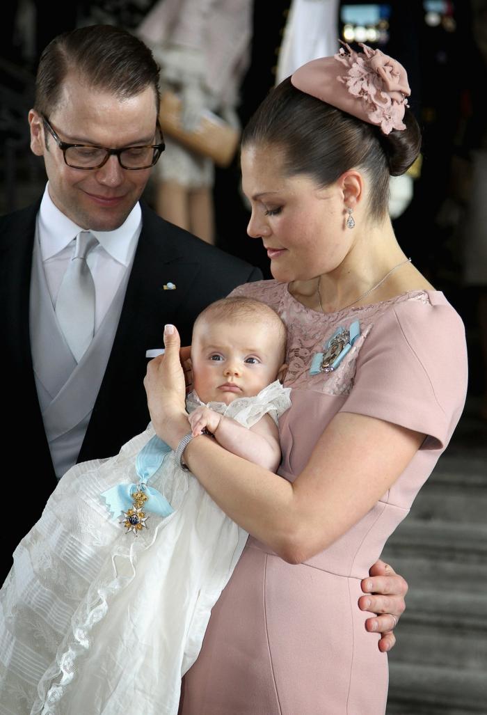 Prinzessin Victoria von Schweden und tochter prinzessin estelle