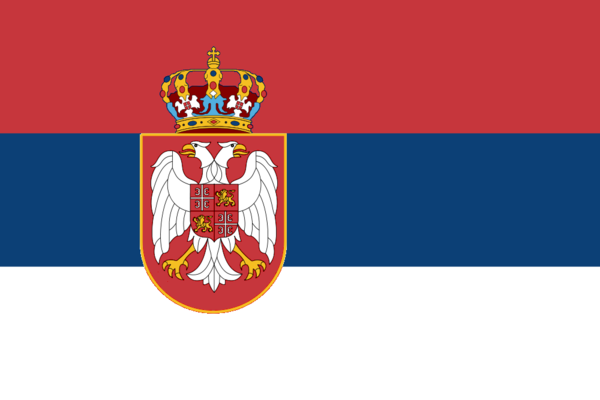 Reisen nach Serbien flagge sehenswürdigkeiten