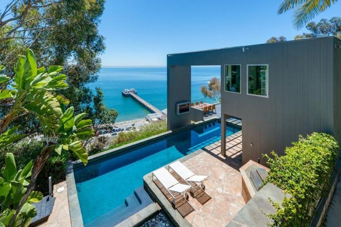Traumhaus Matthew Perry strandhaus luxus pool Fernsehserie Friends