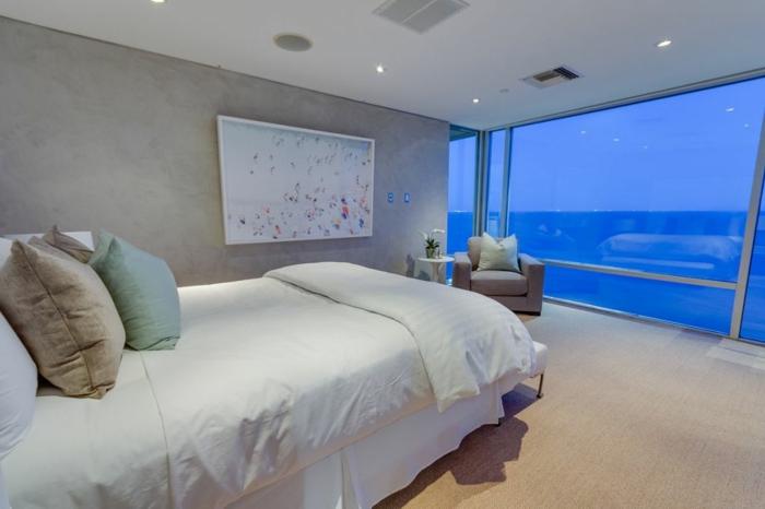 Traumhaus Matthew Perry strandhaus schlafzimmer Fernsehserie Friends