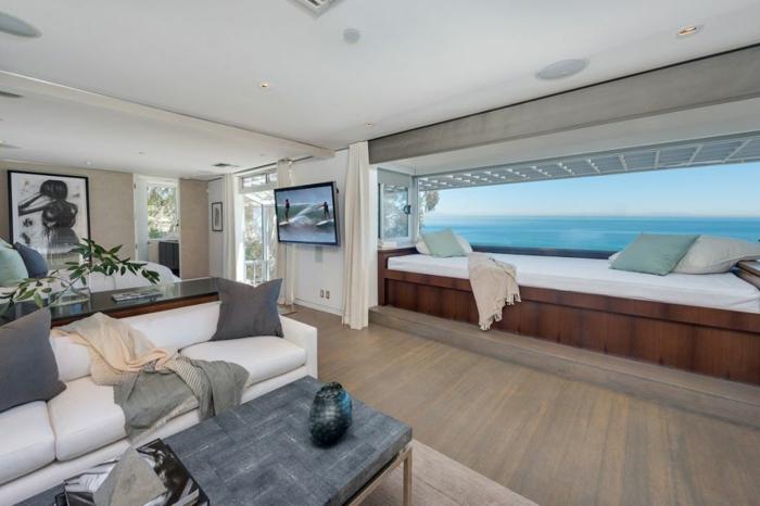 Traumhaus Matthew Perry strandhaus wohnzimmer Fernsehserie Friends