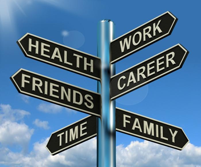 Vereinbarkeit von Familie und Beruf balance