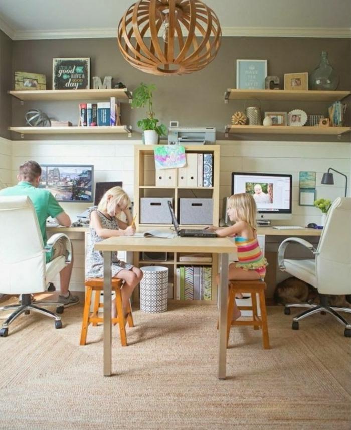 Vereinbarkeit von Familie und Beruf häusliches arbeitszimmer