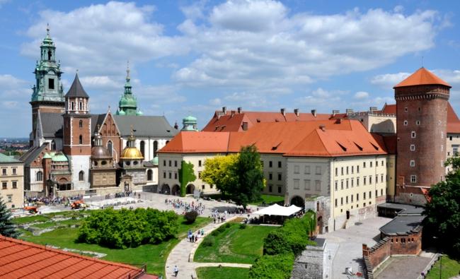 Wawel schloss Krakau Polen hauptstadt reisen und urlaub