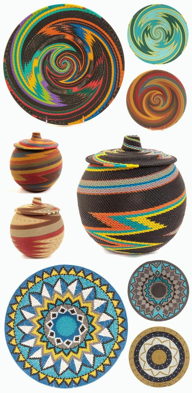 afrika deko bunte afrikanische mustern farben