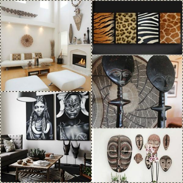 afrika deko dekoartikel afrikanische muster wohnaccessoires