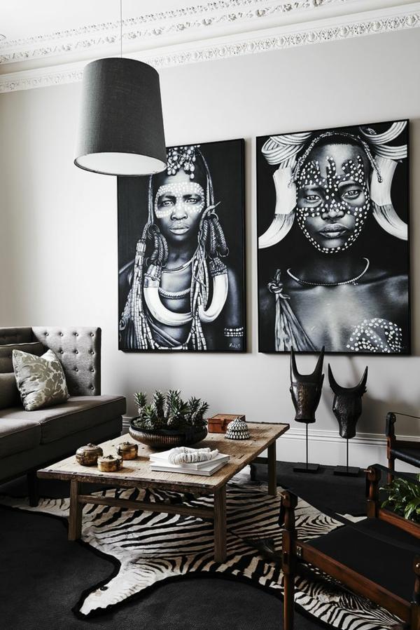 Afrika Deko im eigenen Wohnraum: ein Artikel für alle Afrika-Liebhaber