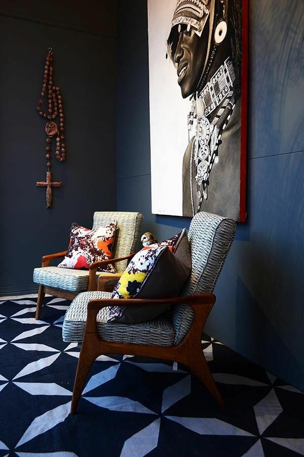 afrika deko inspiration wanddeko