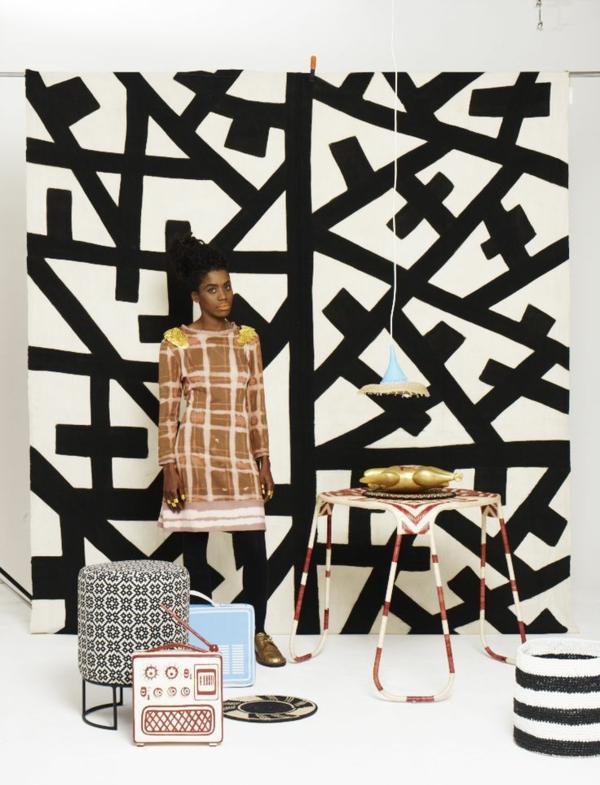 afrika deko inspirierende ideen aus afrika textilien