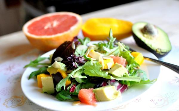 avocado rezepte salat mango tomate