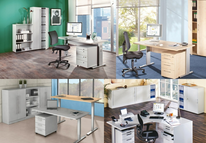 b roeinrichtung planen so gestalten sie das perfekte homeoffice. Black Bedroom Furniture Sets. Home Design Ideas