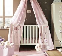 Babybett Himmel - Das Babybett mit Geschmack dekorieren