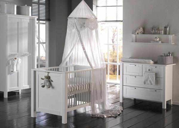 babybetten design babyzimmer gestalten dunkler boden