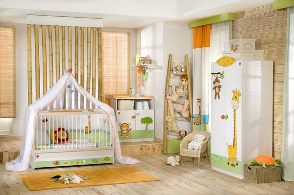 babybetten design babyzimmer safari interieur