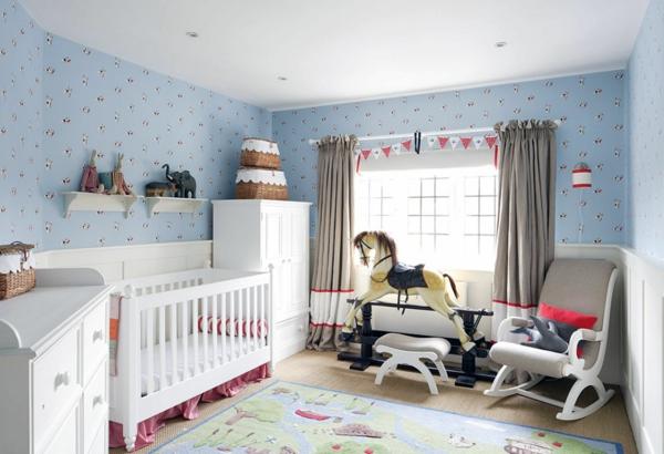 Wandtapeten F?r Babyzimmer : Babyzimmer gestalten ? Was macht das sch?ne Babyzimmer aus?